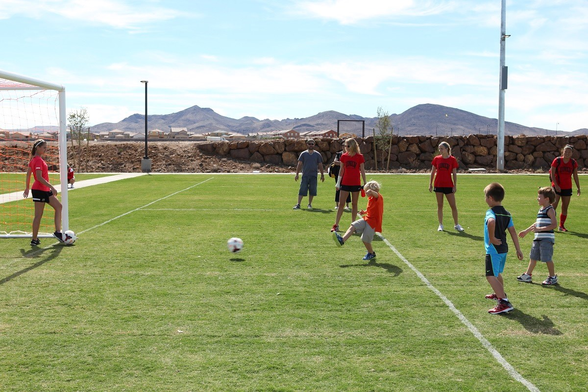 New Homes in Henderson, NV - Groves at Inspirada Inspirada Soccer Field