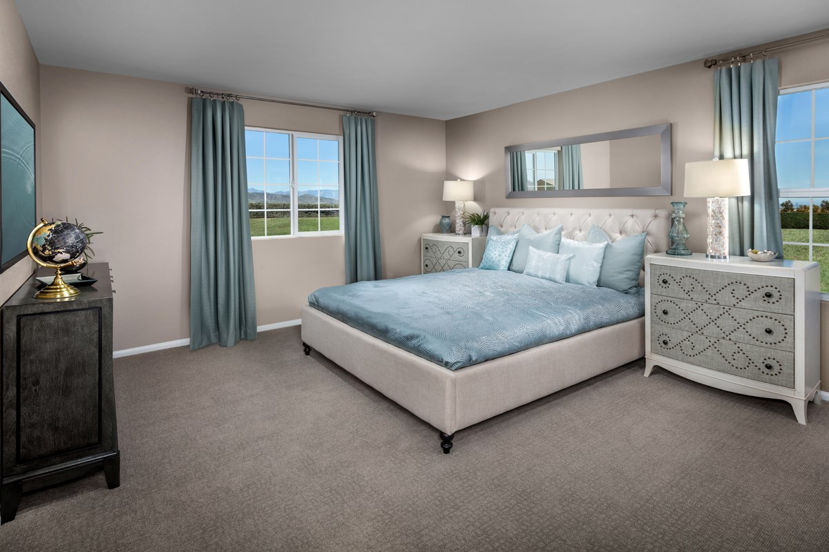 New Homes in Henderson, NV - Groves at Inspirada Plan 1736 Master Bedroom