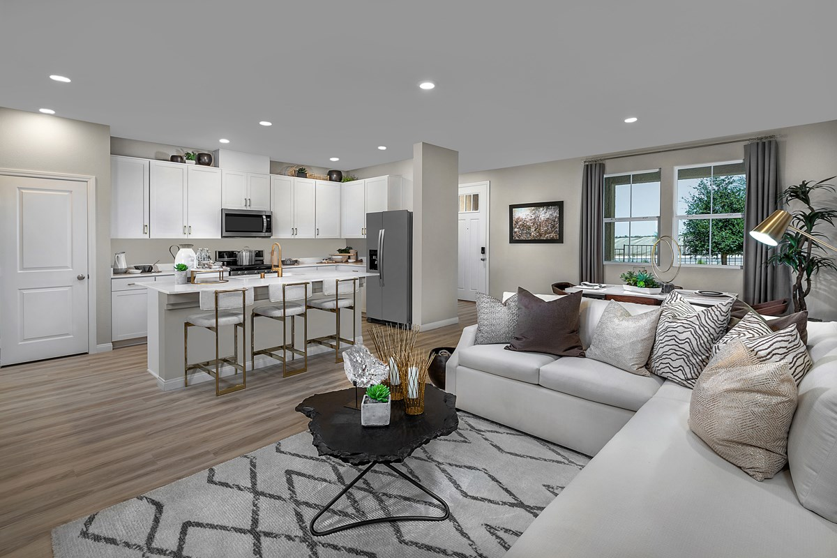 New Homes in Henderson, NV - Groves at Inspirada Plan 1598 Great Room