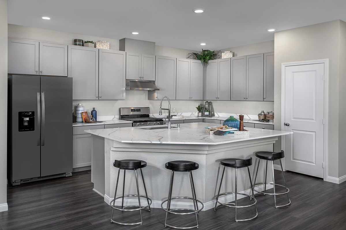New Homes in Henderson, NV - Groves at Inspirada Plan 1736 Kitchen
