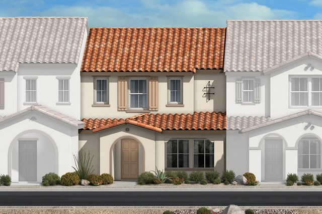 New Homes in North Las Vegas, NV - Plan 1366 Elevation A