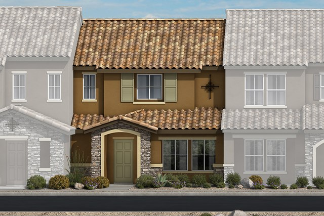 New Homes in North Las Vegas, NV - Plan 1366 Elevation B