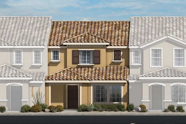 New Homes in North Las Vegas, NV - Plan 1366 Elevation E
