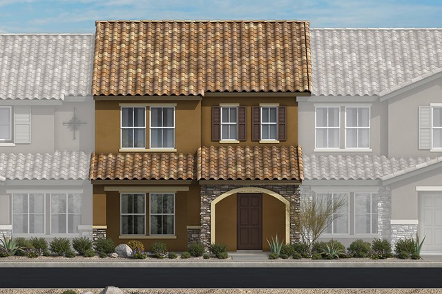 New Homes in North Las Vegas, NV - Plan 1598 Elevation B