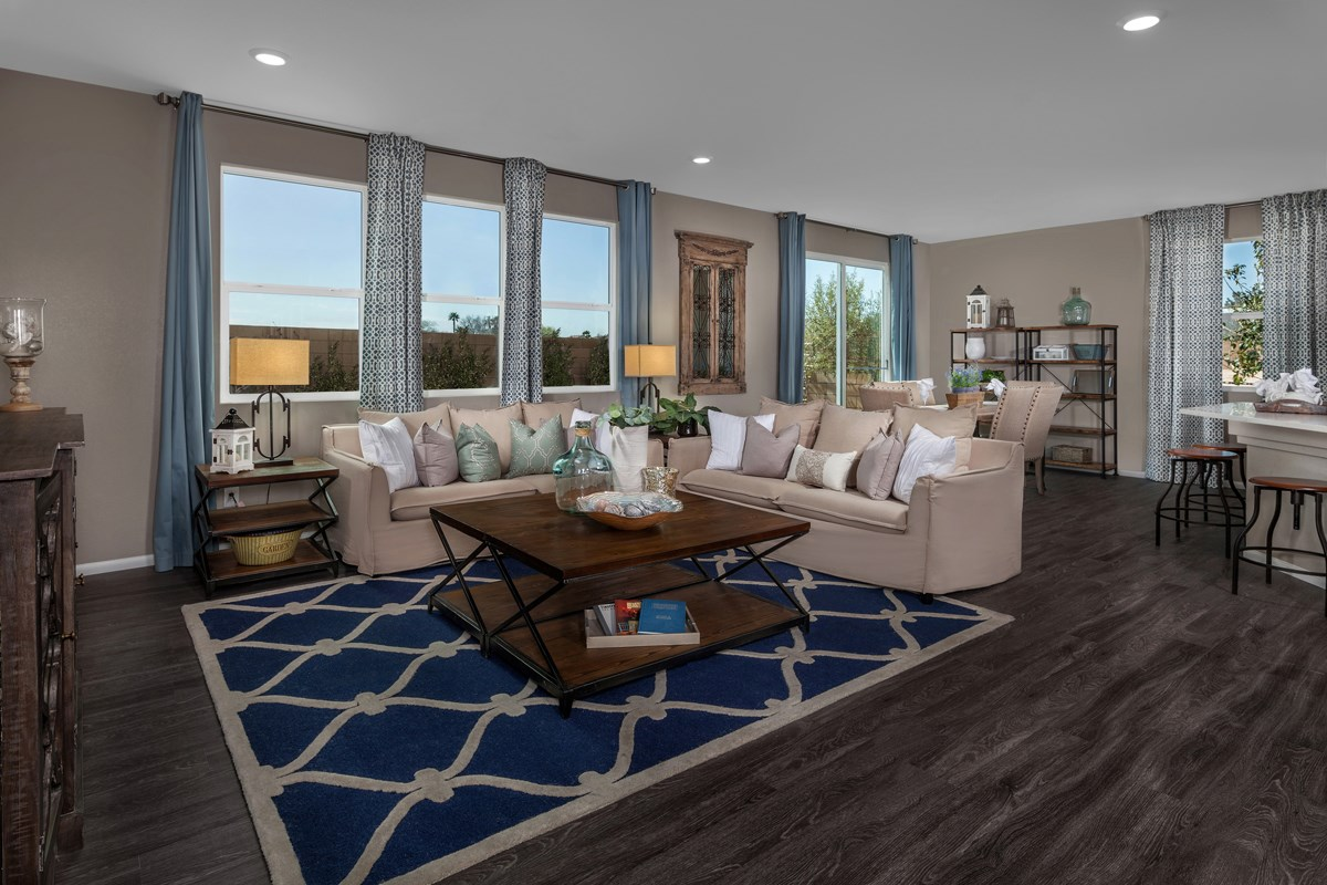 New Homes in Las Vegas, NV - Idylwood Plan 2335 Great Room