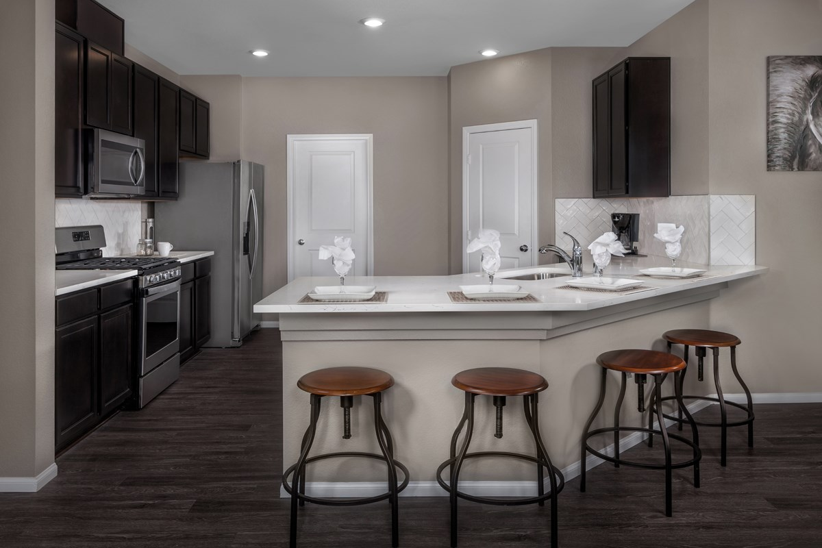 New Homes in Las Vegas, NV - Idylwood Plan 2335 Kitchen