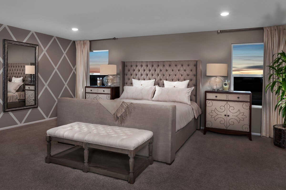 New Homes in Las Vegas, NV - Idylwood Plan 2335 Master Bedroom