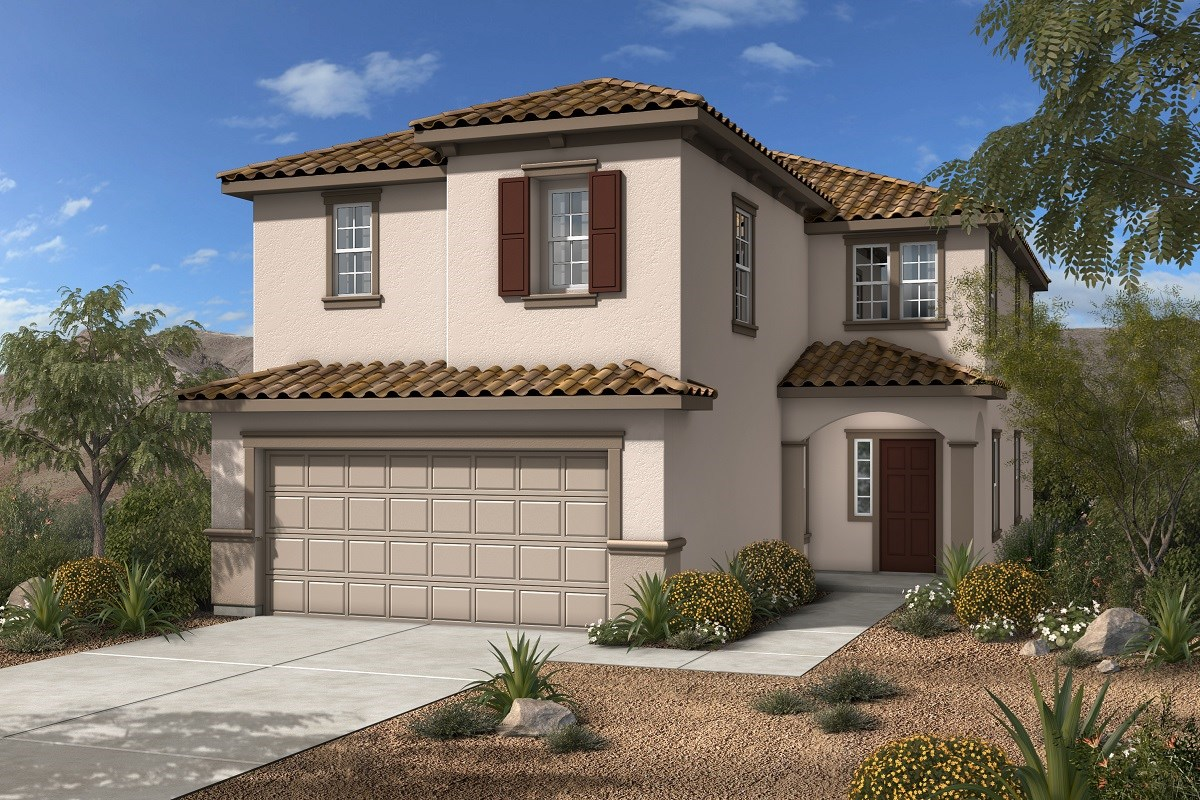 New Homes in Las Vegas, NV - Jade Meadows Plan 2547