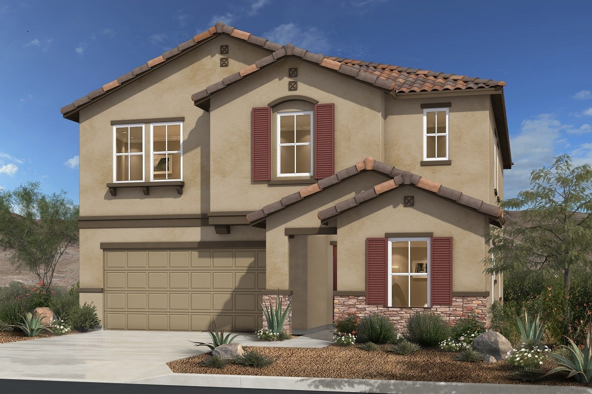 New Homes in Las Vegas, NV - Jade Meadows Plan 2679