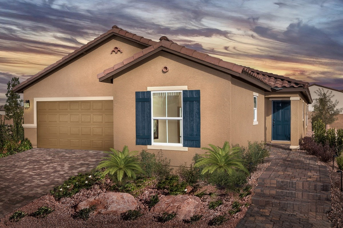 New Homes in Las Vegas, NV - Jade Meadows Plan 1849 Modeled