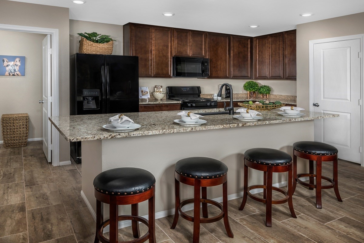 New Homes in Las Vegas, NV - Jade Meadows Plan 1849 Kitchen