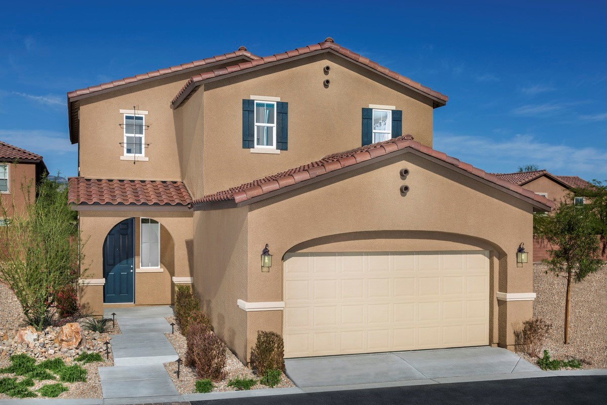 New Homes in Las Vegas, NV - Jade Meadows Plan 2335 as modeled at Denali