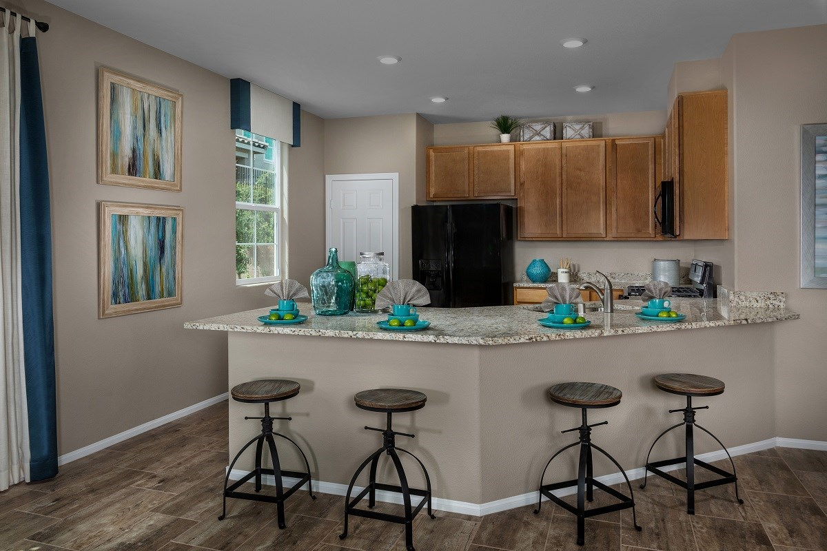New Homes in Henderson, NV - Landings at Inspirada Plan 2115 Kitchen