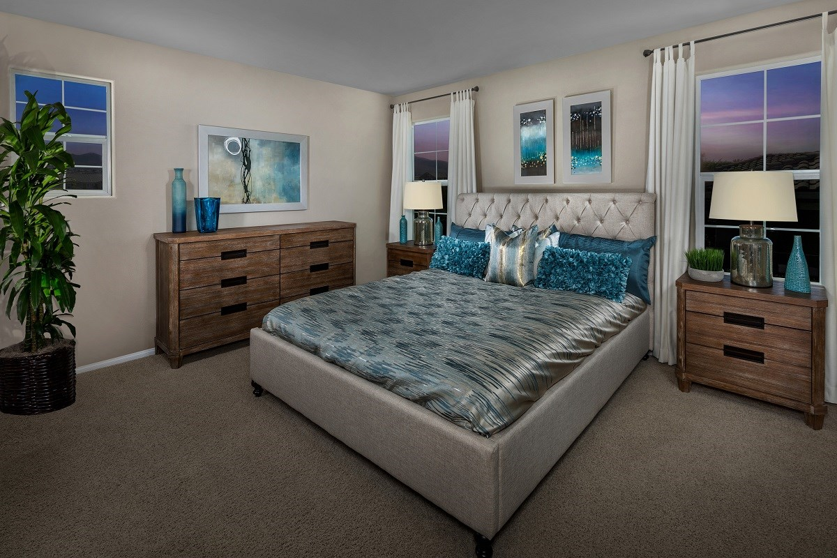 New Homes in Henderson, NV - Landings at Inspirada Plan 2115 Master Bedroom