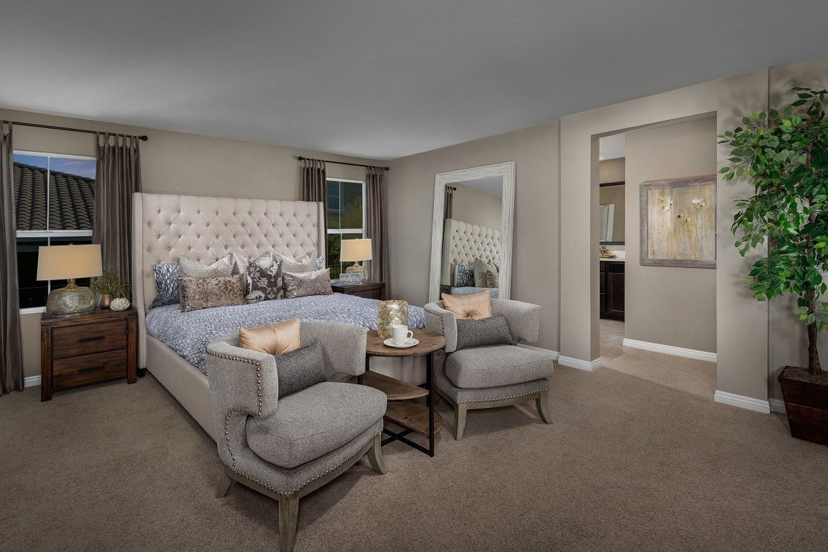 New Homes in Henderson, NV - Landings at Inspirada Plan 2469 Master Bedroom