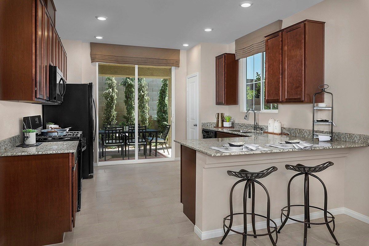 New Homes in Henderson, NV - Landings at Inspirada Plan 1150 Kitchen
