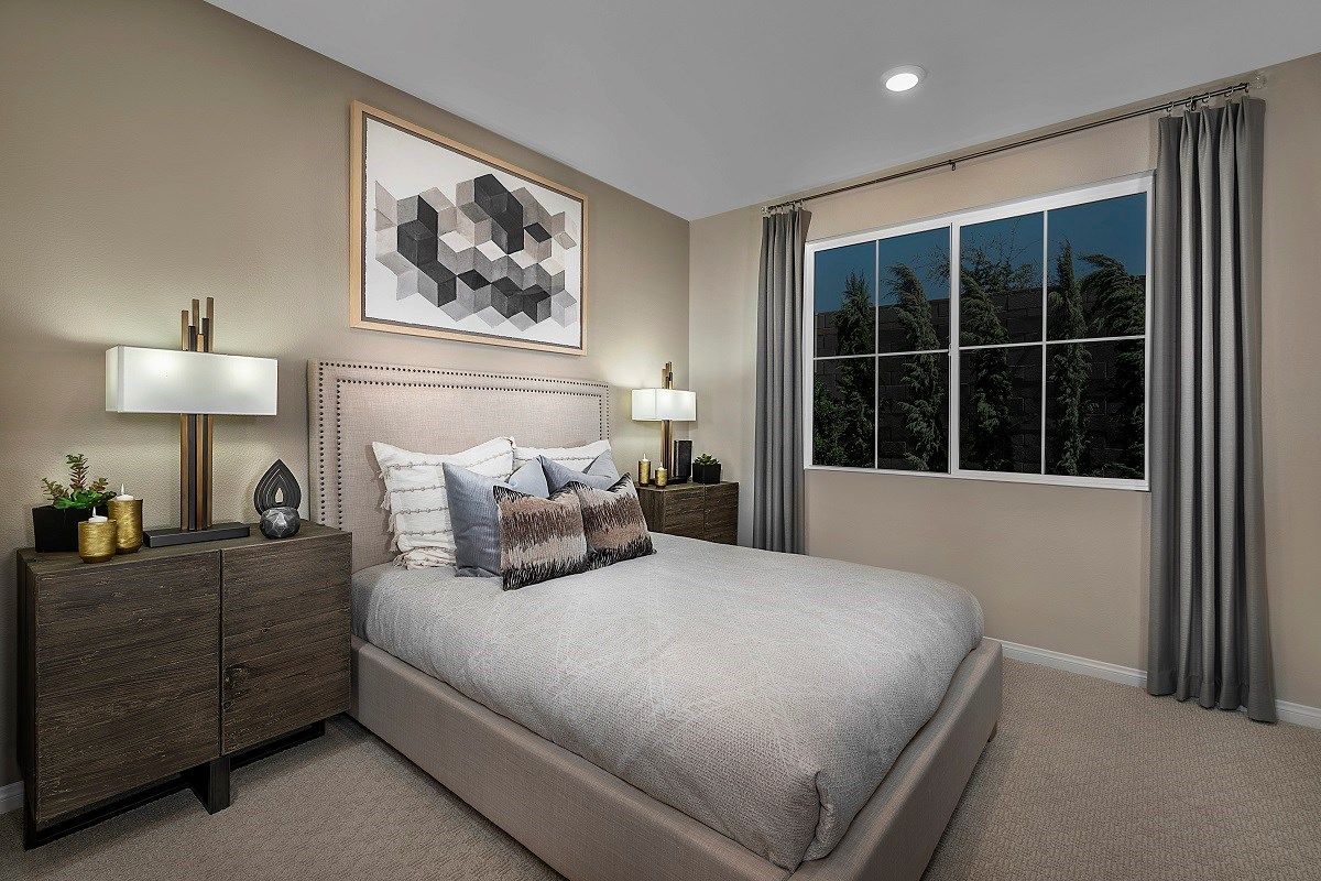 New Homes in Henderson, NV - Landings at Inspirada Plan 1150 Master Bedroom