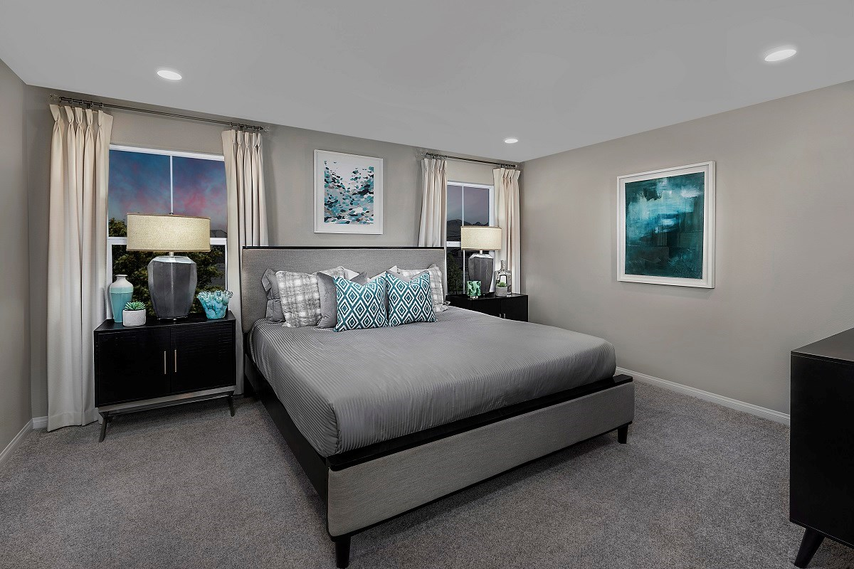 New Homes in Henderson, NV - Landings at Inspirada Plan 1768 Master Bedroom