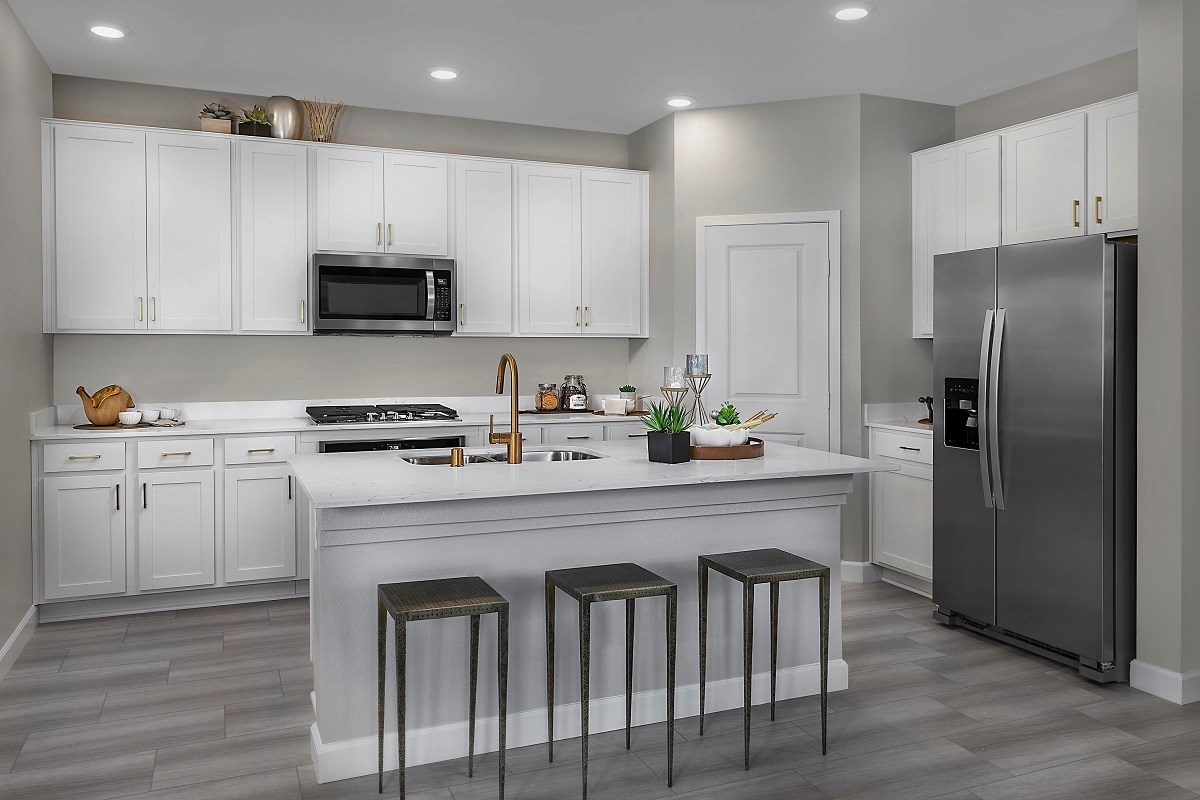 New Homes in Henderson, NV - Landings at Inspirada Plan 2089 Kitchen