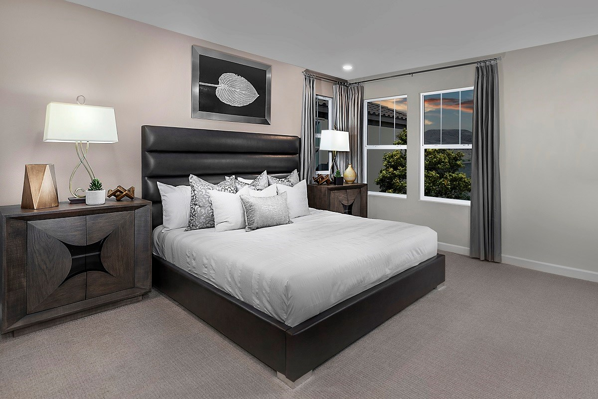 New Homes in Henderson, NV - Landings at Inspirada Plan 2089 Master Bedroom