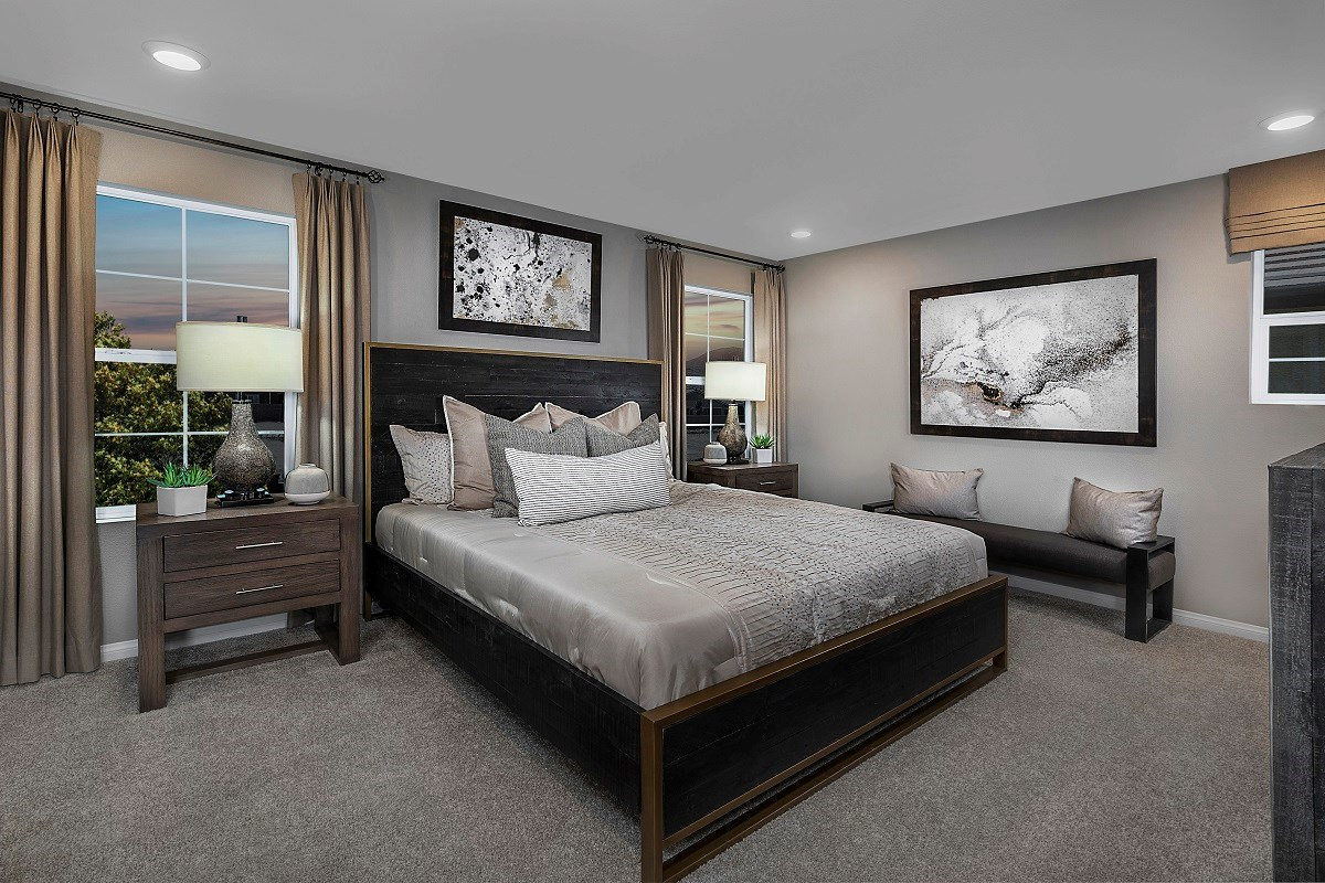 New Homes in Henderson, NV - Landings at Inspirada Plan 2125 Master Bedroom