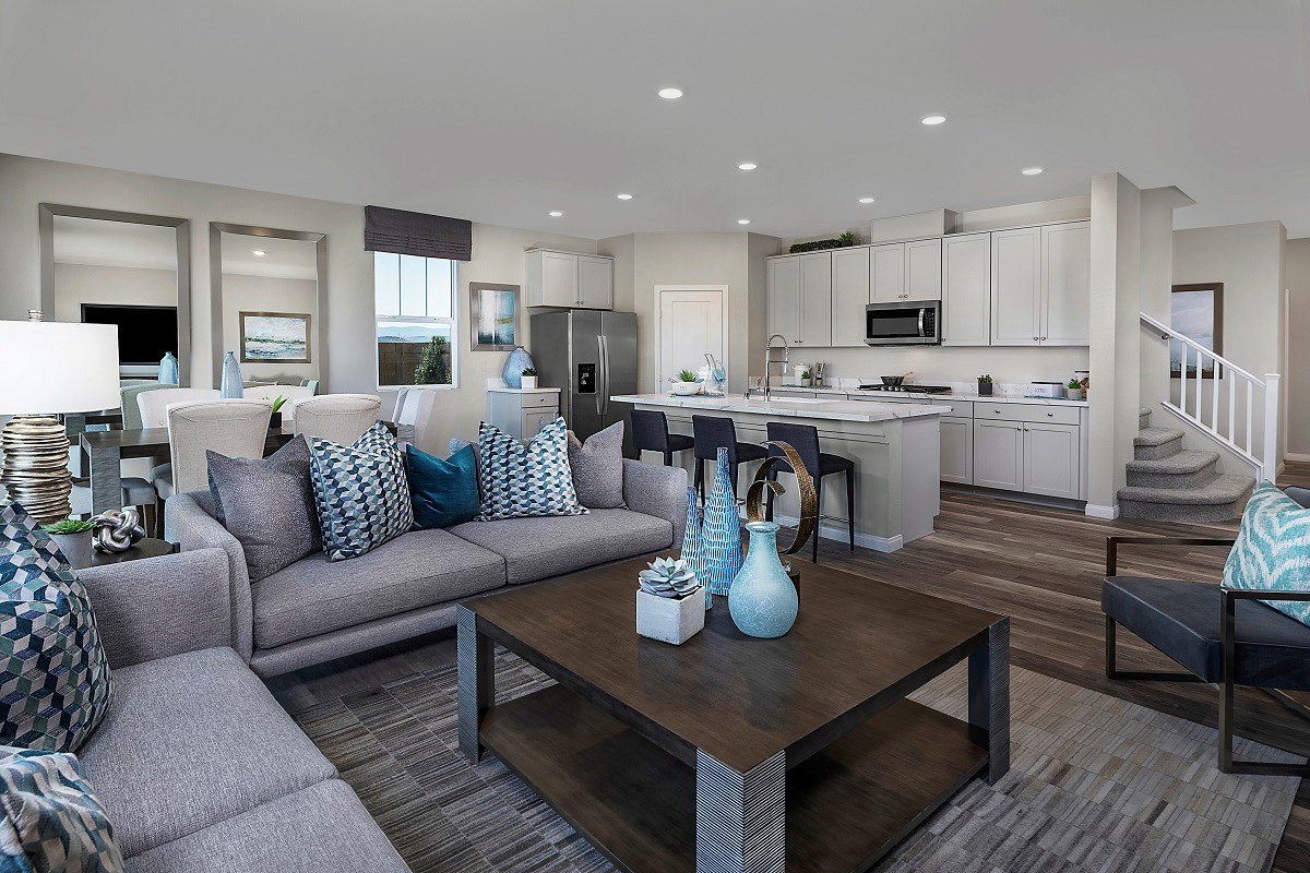 New Homes in Henderson, NV - Landings at Inspirada Plan 2469 Great Room