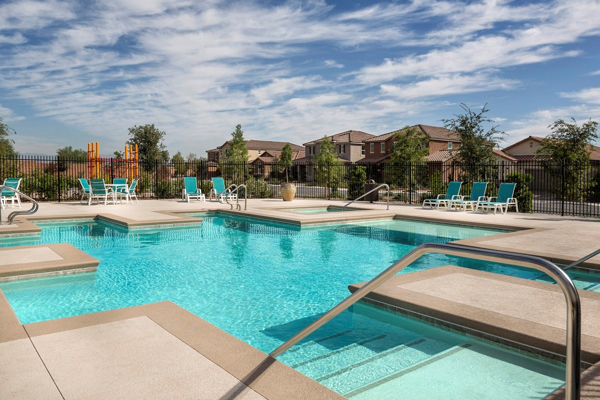 New Homes in Las Vegas, NV - Landings at San Severo San Severo Pool
