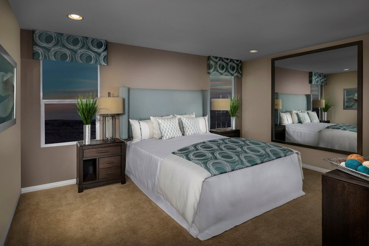 New Homes in Las Vegas, NV - Landings at San Severo Plan 2115 Master Bedroom