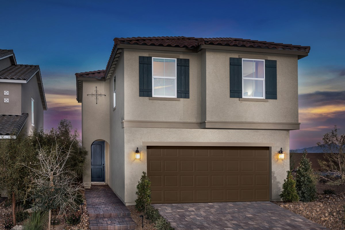 New Homes in North Las Vegas, NV - Landings at Tanglewood Plan 1657