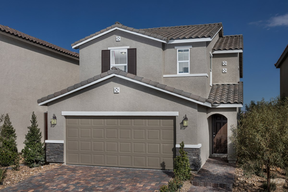 New Homes in North Las Vegas, NV - Landings at Tanglewood Plan 2115 Modeled