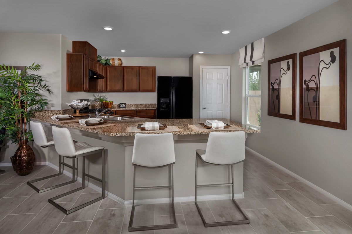 New Homes in North Las Vegas, NV - Landings at Tanglewood Plan 2115 Kitchen