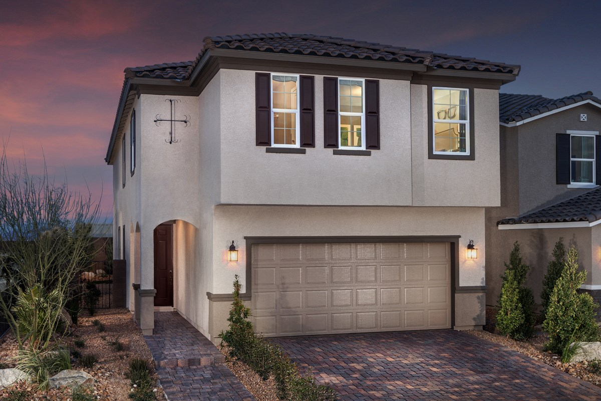 New Homes in North Las Vegas, NV - Landings at Tanglewood Plan 2469 Modeled