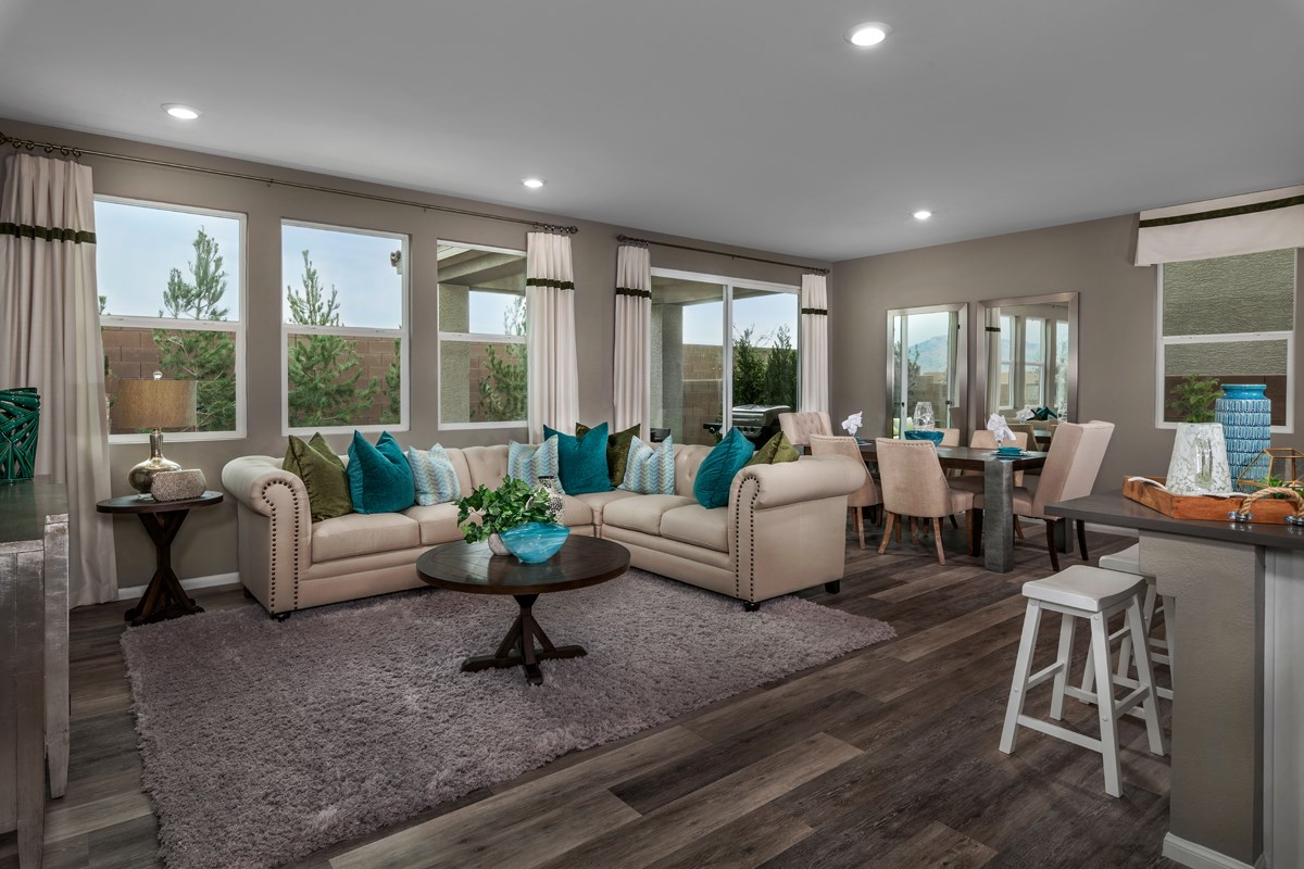New Homes in North Las Vegas, NV - Landings at Tanglewood Plan 2469 Great Room