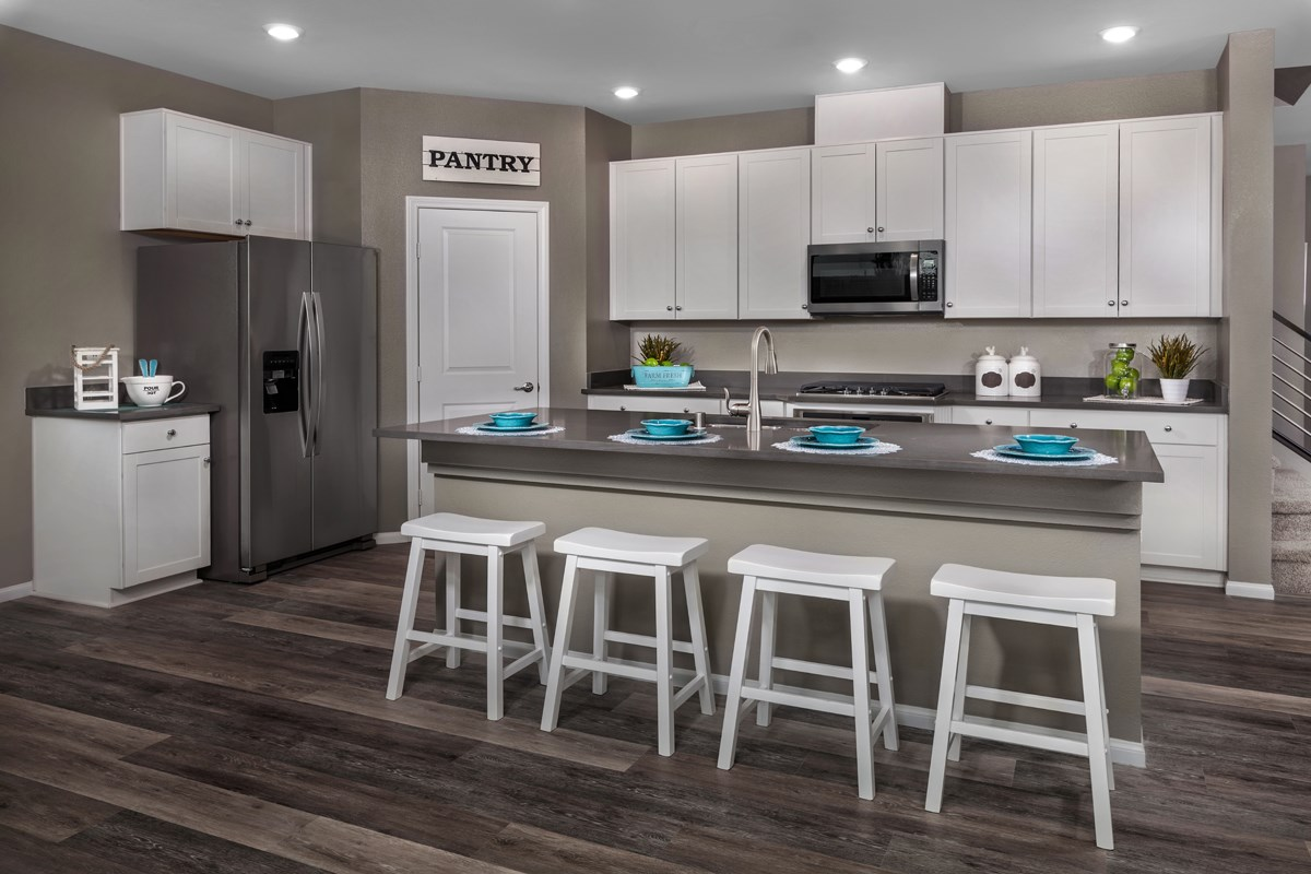 New Homes in North Las Vegas, NV - Landings at Tanglewood Plan 2469 Kitchen