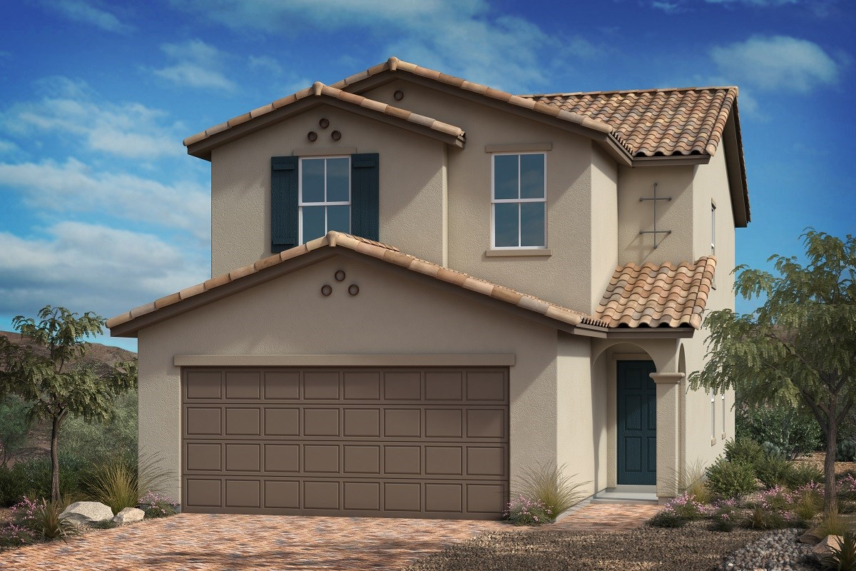 New Homes in Las Vegas, NV - Landings at Amizade Plan 2115
