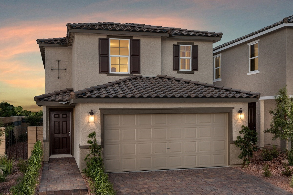 New Homes in Las Vegas, NV - Lianna Plan 2115 Modeled