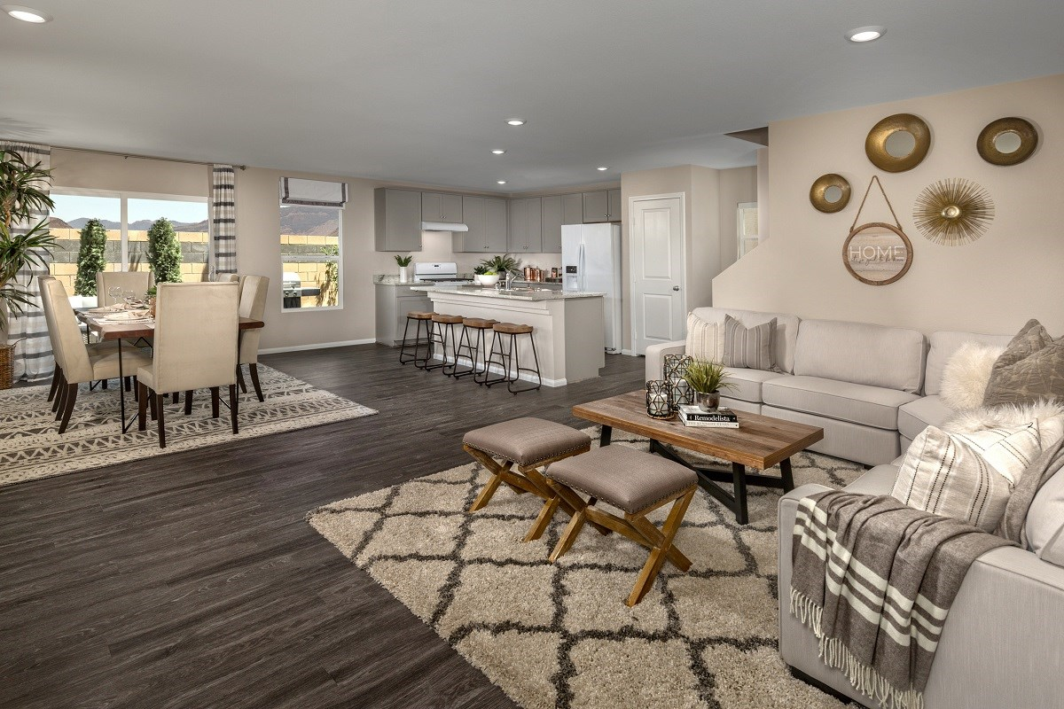 New Homes in Las Vegas, NV - Lianna Plan 2115 Great Room
