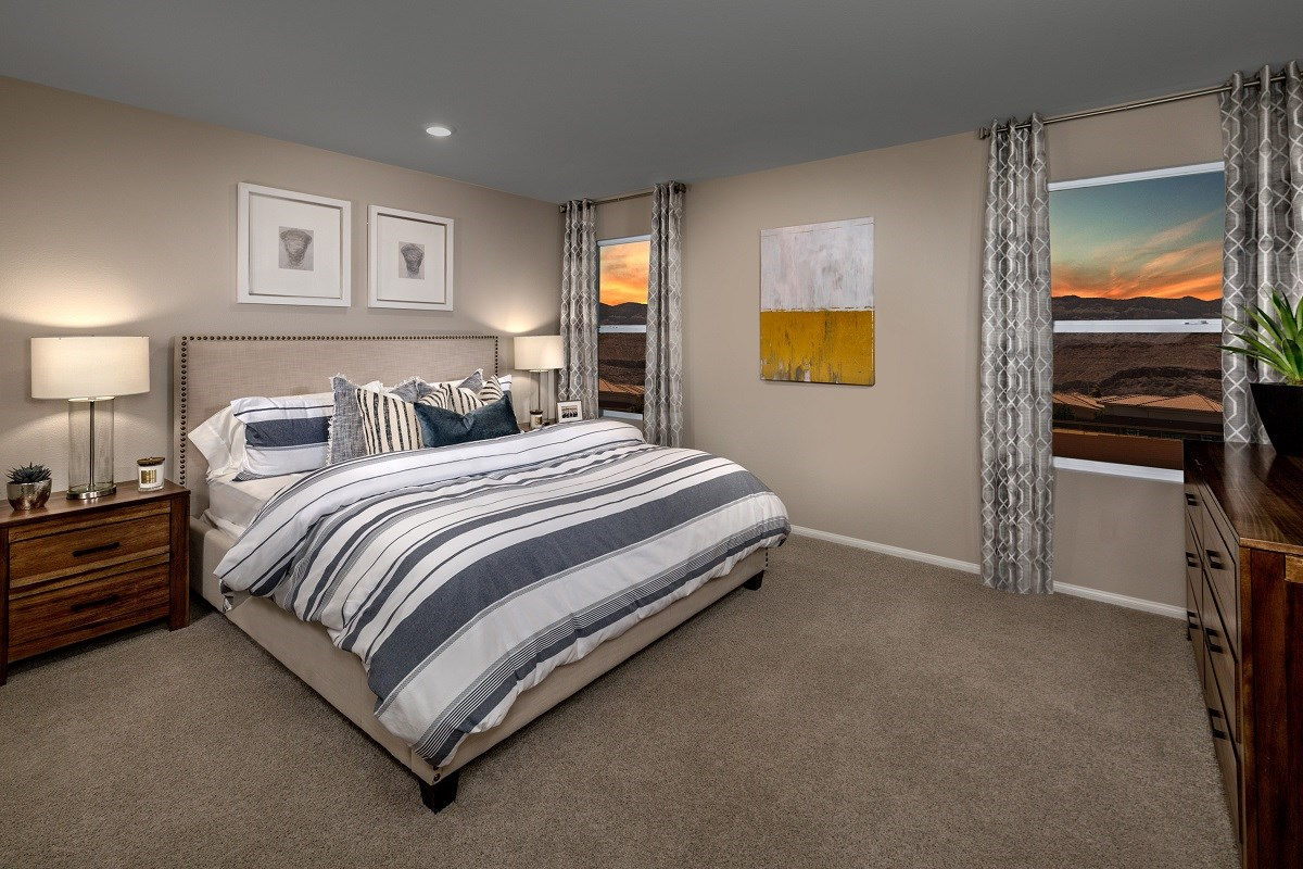 New Homes in Las Vegas, NV - Lianna Plan 2115 Master Bedroom