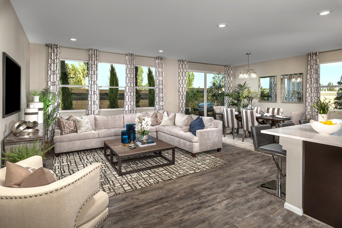 New Homes in Las Vegas, NV - Lianna Plan 2469 Great Room