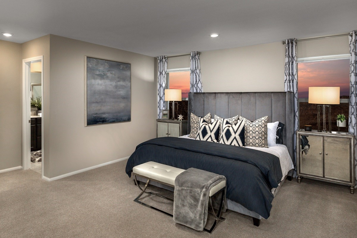 New Homes in Las Vegas, NV - Lianna Plan 2469 Master Bedroom