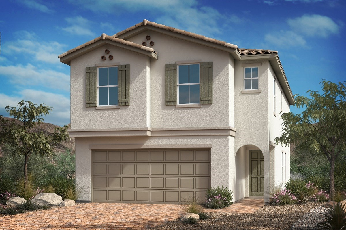 New Homes in Las Vegas, NV - Mirage Landings Plan 2062