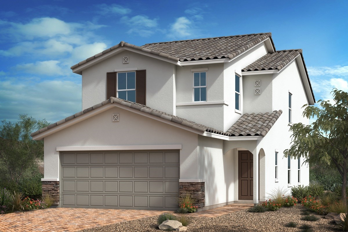 New Homes in Las Vegas, NV - Mirage Landings Plan 2114