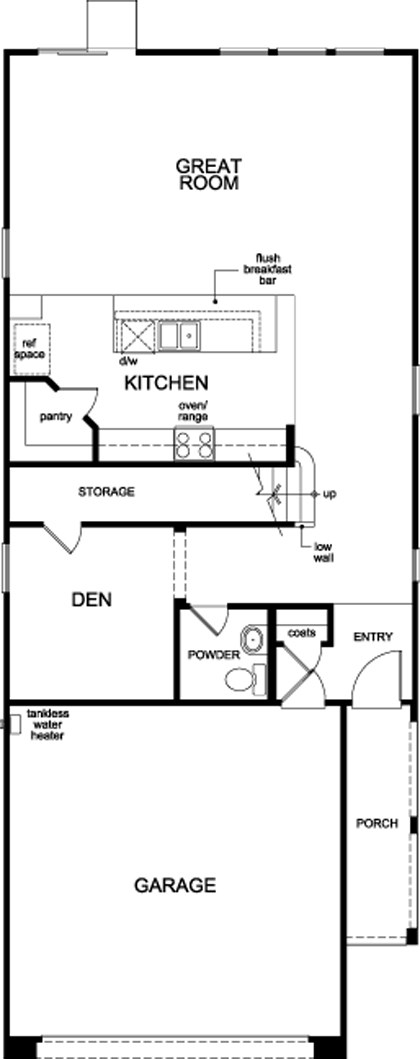 Plan 2469 Modeled New Home Floor Plan In Oxford Commons