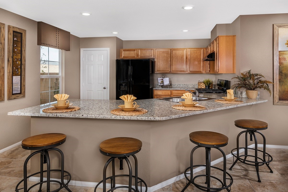 New Homes in Las Vegas, NV - Oxford Commons Plan 2115 Kitchen