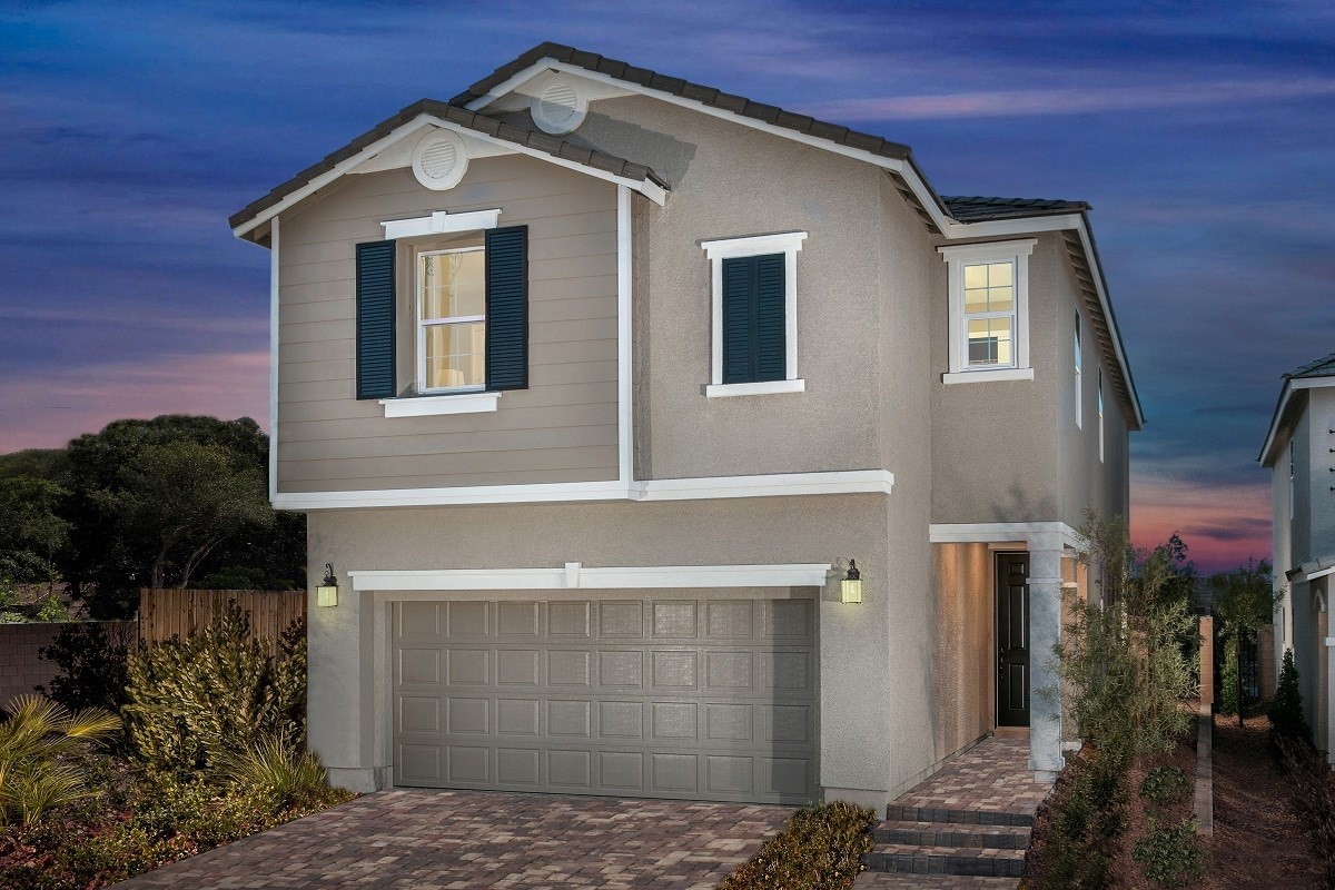 New Homes in Las Vegas, NV - Oxford Commons Plan 2469 Modeled