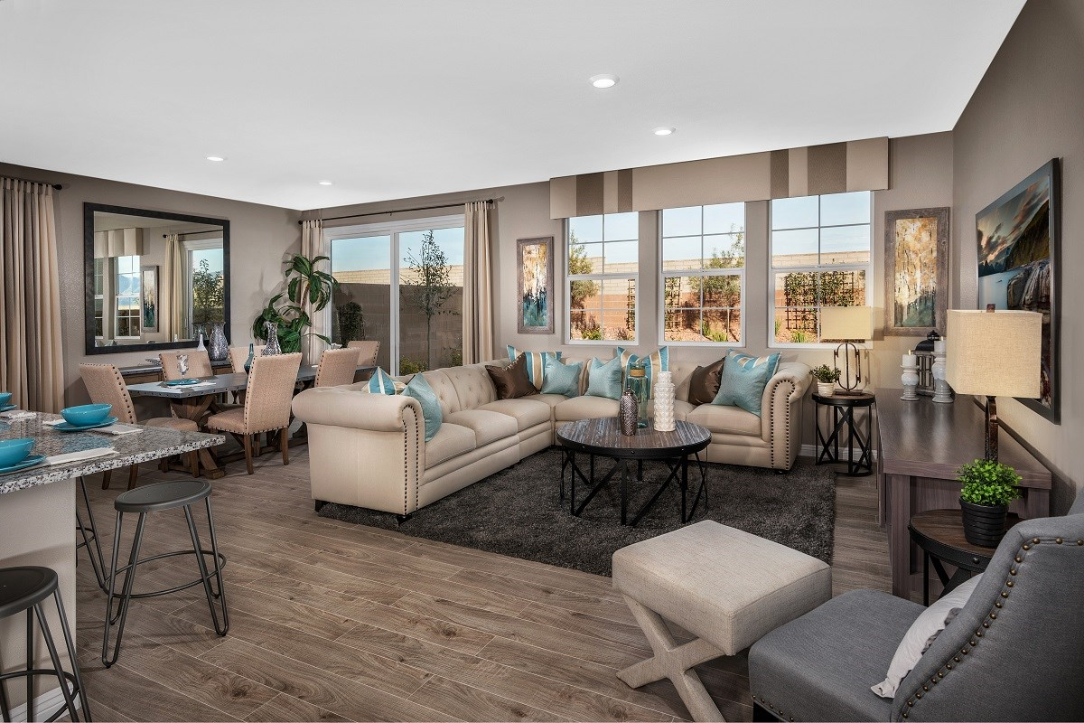 New Homes in Las Vegas, NV - Oxford Commons Plan 2469 Great Room
