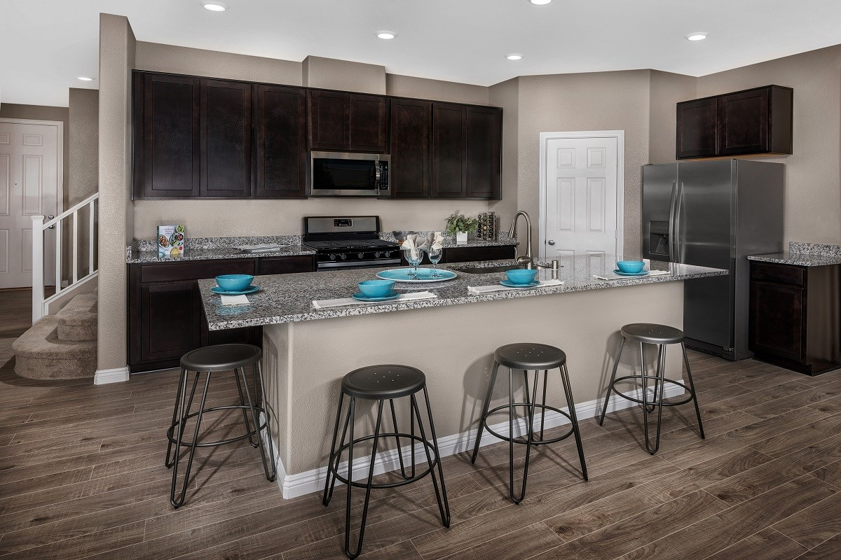 New Homes In Las Vegas Nv Oxford Commons Plan 2469 Kitchen