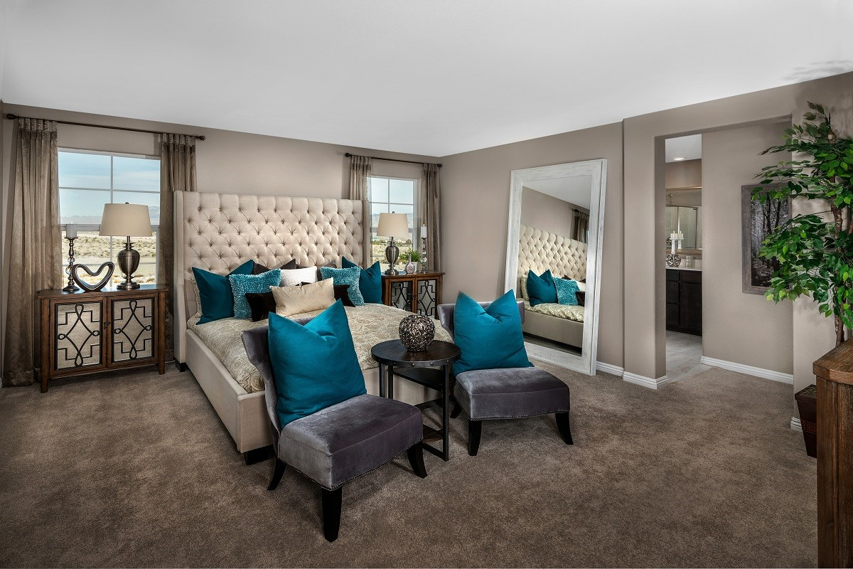 New Homes in Las Vegas, NV - Oxford Commons Plan 2469 Master Bedroom