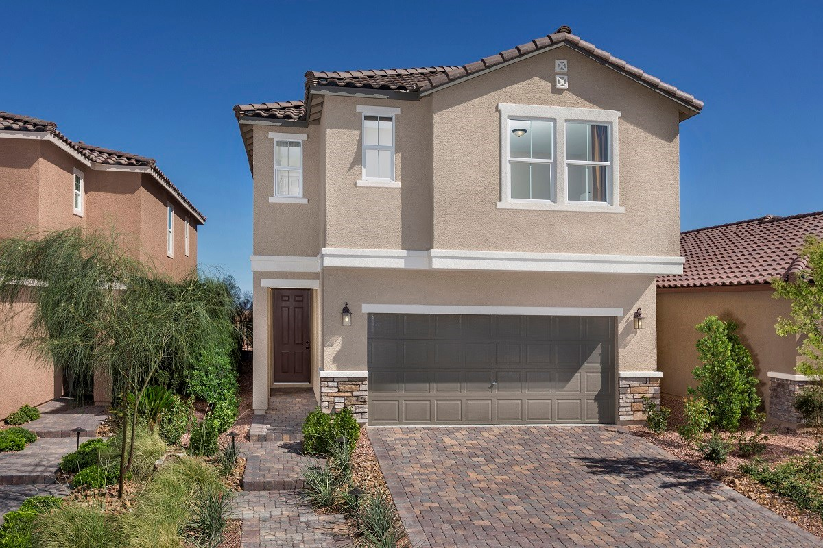 New Homes in Las Vegas, NV - Oxford Commons Plan 2469 as modeled at San Severo