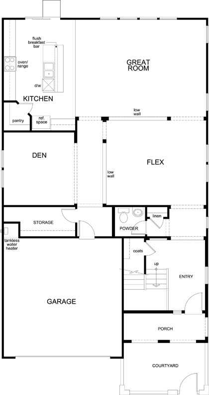floor plan of first floor